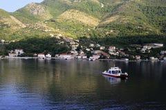 Montenegro sun rise Royalty Free Stock Image
