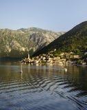 Montenegro sun rise Stock Photo