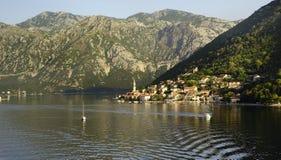 Montenegro sun rise Royalty Free Stock Photos