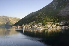Montenegro sun rise Stock Photos