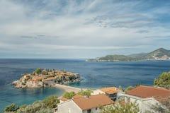 Montenegro Sveti Stefan Fotografia de Stock