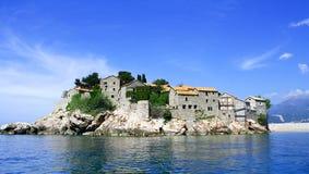 montenegro sveti Stefan obrazy royalty free