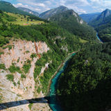 Montenegro. Tara Canyon Royalty Free Stock Image