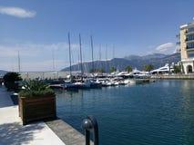 Montenegro, Tivat Stockbild