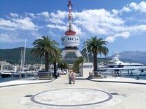 Montenegro Tivat Arkivfoto