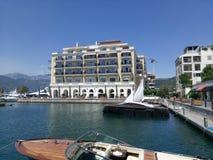 Montenegro, Tivat Stockfotografie
