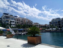 Montenegro, Tivat Lizenzfreies Stockfoto