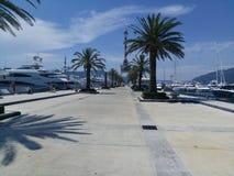 Montenegro, Tivat Lizenzfreie Stockfotografie