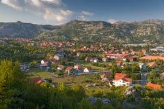 montenegro town Royaltyfria Bilder