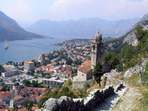 Montenegro Town Kotor Royalty Free Stock Photos
