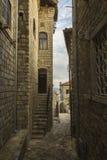 montenegro Ulcinj Oude Stad Stock Afbeelding