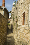 montenegro Ulcinj Oude Stad Stock Fotografie