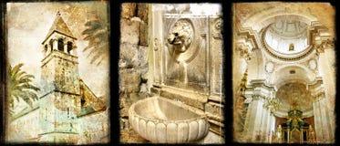 Montenegro velho Fotos de Stock Royalty Free