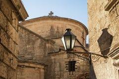montenegro Vue de vieille ville de Kotor, site d'héritage d'UNESCO-monde Murs de vieux bâtiments image stock