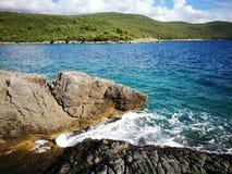 Montenegro wild beauty. Beach Stock Images