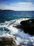 Montenegro wild beauty. Beach Stock Photos