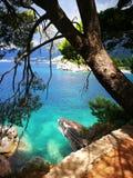 Montenegro wild beauty. In Sveti Stefan Stock Image