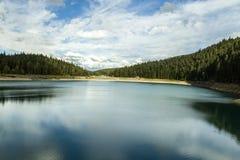 montenegro Zwart meer Het Nationale Park van Durmitor Royalty-vrije Stock Fotografie