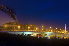 The Monteolivete bridge at night Stock Photo
