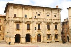 Montepulciano, Palazzo Nobili-Tarugi 库存照片