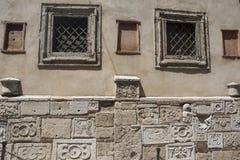 Montepulciano, Сиена, Италия: исторические здания Стоковое фото RF