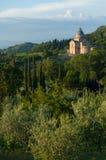 Montepulciano, Тоскана стоковая фотография