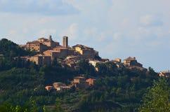 Montepulciano Photos libres de droits