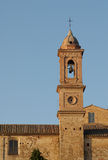 Montepulciano Bell Tower, Italy Royalty Free Stock Photography