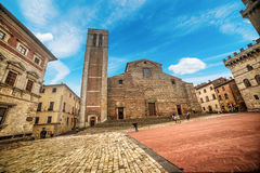 Montepulciano cathedral Royalty Free Stock Image