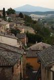 Montepulciano dach Zdjęcie Stock