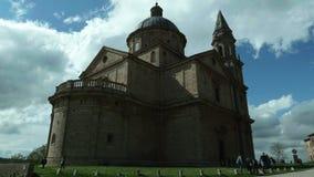 Montepulciano, igreja de San Biagio video estoque