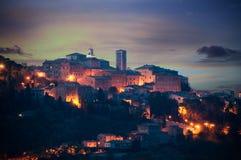 Montepulciano - Itália fotos de stock royalty free