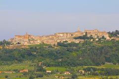 Montepulciano Italien, Tuscany royaltyfri bild