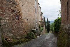Montepulciano. Italiya. Royalty Free Stock Images