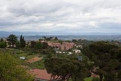 Montepulciano. Italiya. Toskansky Stock Photos