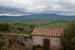 Montepulciano. Italiya.Toskansky Royalty Free Stock Image
