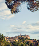 Montepulciano Royalty Free Stock Photo