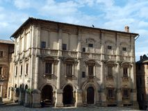 Montepulciano - Palazzo Tarugi Stock Image