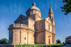 Montepulciano San Biagio church Royalty Free Stock Photos