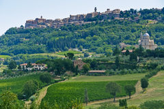 Montepulciano (Siena) Royalty Free Stock Photos