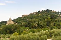 Montepulciano (Siena) Royalty Free Stock Photo