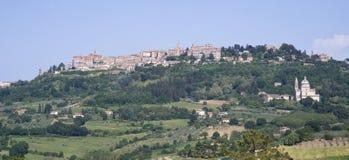 Montepulciano, Toscana, Italia Fotografie Stock Libere da Diritti