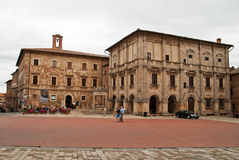 Montepulciano, Toskana Stockfotos