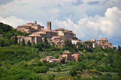 Montepulciano town, Italy Royalty Free Stock Photos