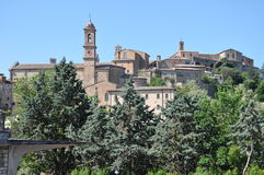 Montepulciano in Tuscany Stock Images