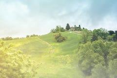 montepulciano tuscany Arkivbild