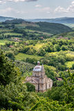 MONTEPULCIANO, TUSCANY/ITALY - MAY 17 : View of San Biagio churc Royalty Free Stock Photo