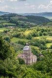 MONTEPULCIANO, TUSCANY/ITALY - MAY 17 : View of San Biagio churc Royalty Free Stock Photo