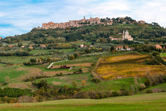 Montepulciano, Tuscany Royalty Free Stock Images