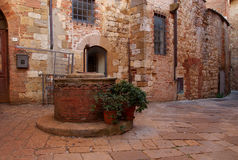 Montepulciano Well, Italy Stock Image